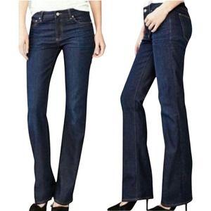 Gap 1969 Perfect Boot Cut Dark Wash Jeans Sz 29s